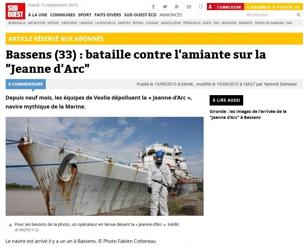 [Autre sujet Marine Nationale] Démantèlement, déconstruction des navires - TOME 2 - Page 6 114