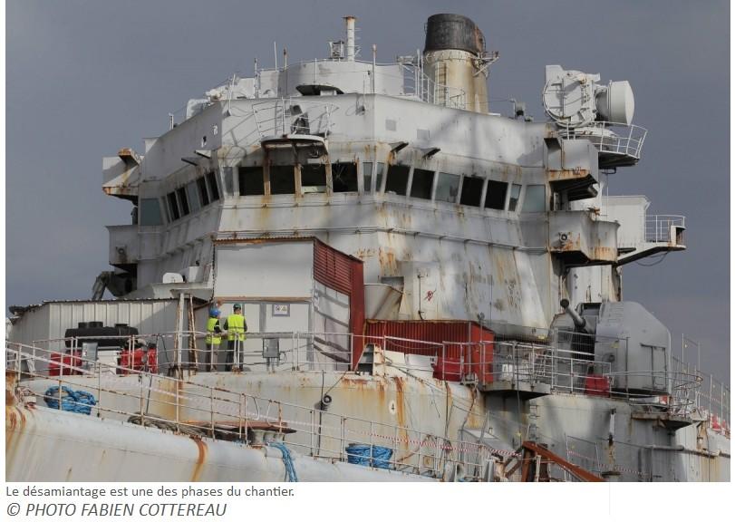 [Autre sujet Marine Nationale] Démantèlement, déconstruction des navires - TOME 2 - Page 6 510
