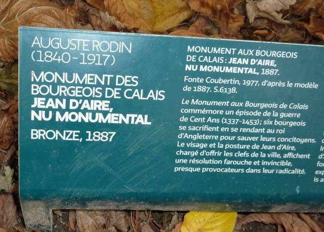 au musée Rodin, le 19.09.2015 P1060118