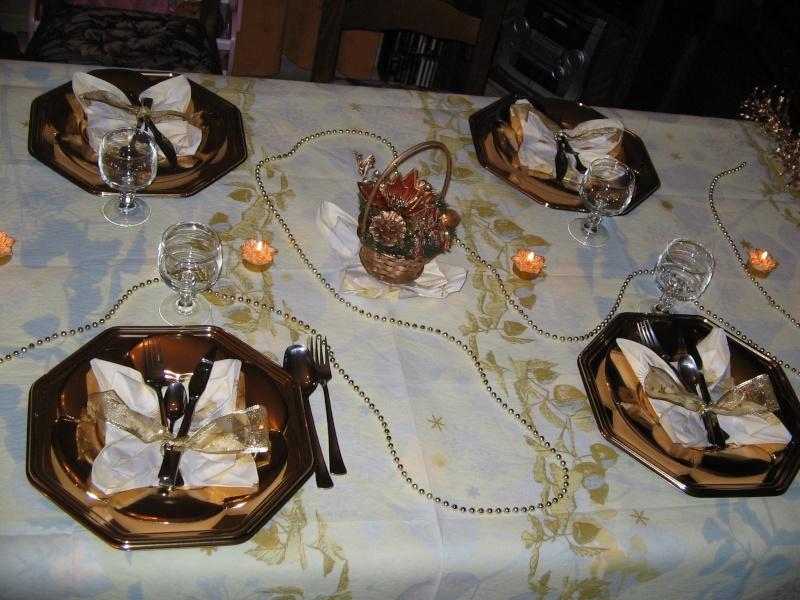 Des idées pour la table, la déco 20061210