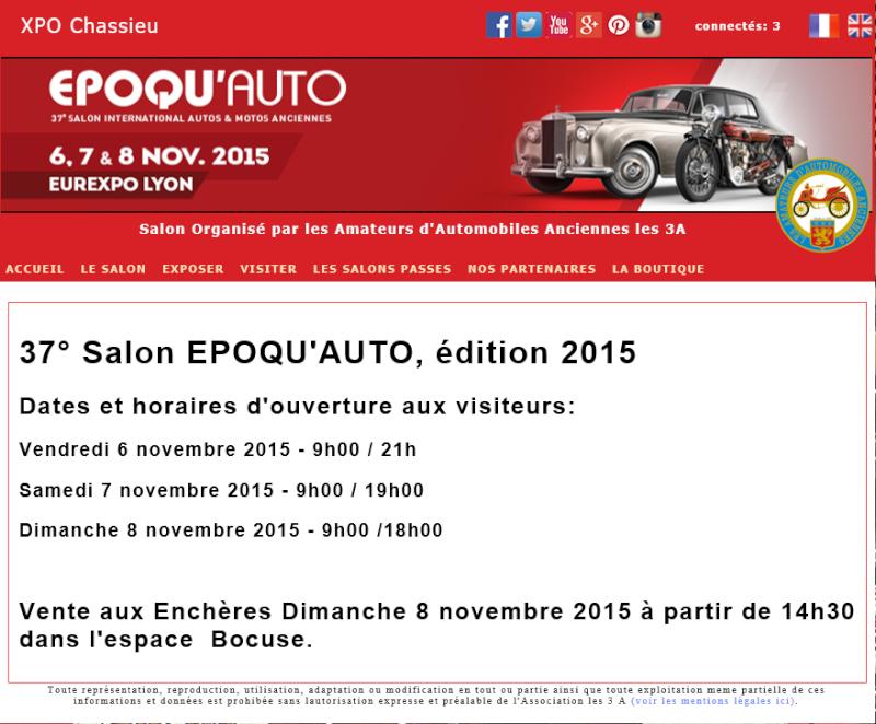 Billets à tarif réduit salon Epoqu'AUTO 2015  Lyon_210