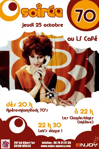 SOIREE 70'S AU LS CAFE (Bar féminin) jeudi 25/10! Soiree10