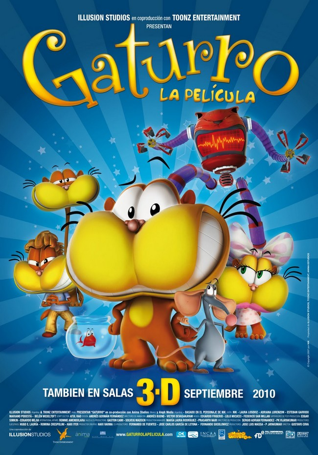 GATURRO LA PELICULA - Illusion Studios -  Septembre 2010 Gaturr10