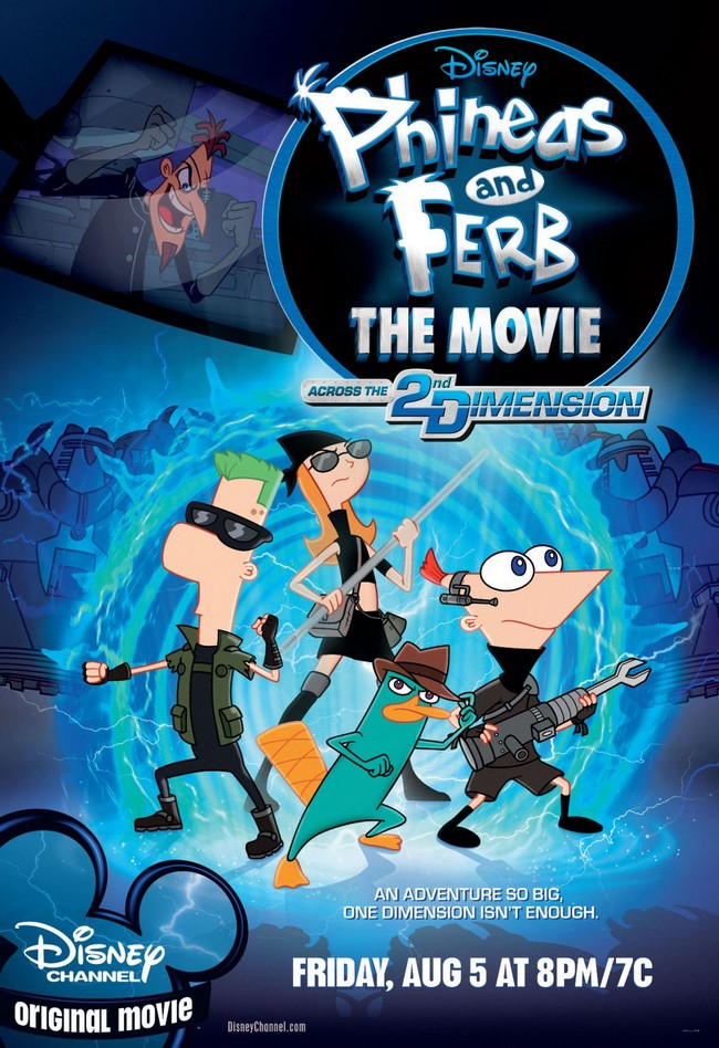 PHINEAS AND FERB THE MOVIE : Across The 2nd Dimension - TV Phinea10