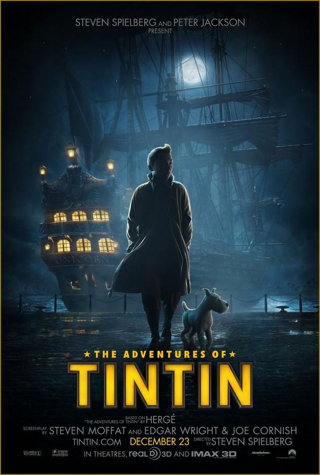 TINTIN, SECRET OF THE UNICORN - 23 octobre 2011 - Tintin14
