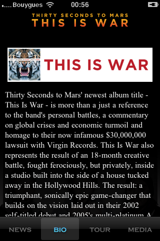 [INFO] 30 Seconds To Mars sur IPHONE 54545410