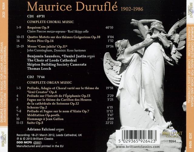 Maurice Duruflé (1902-1986) Inlay10