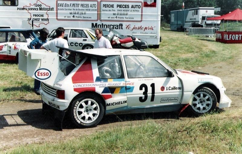 PHOTOS RALLYE CROSS PAU IDRON 1989 Pau_id17