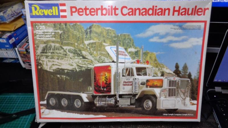Peterbilt Canadian Hauler 1/25 Revell Dsc00022