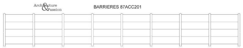 [Architecture & Passion] clôtures hautes en béton 87acc210