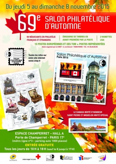 69éme Salon Philatélique d'Automne Affich10