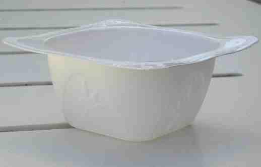 Recyclage des petits pots de produits laitiers Pot010