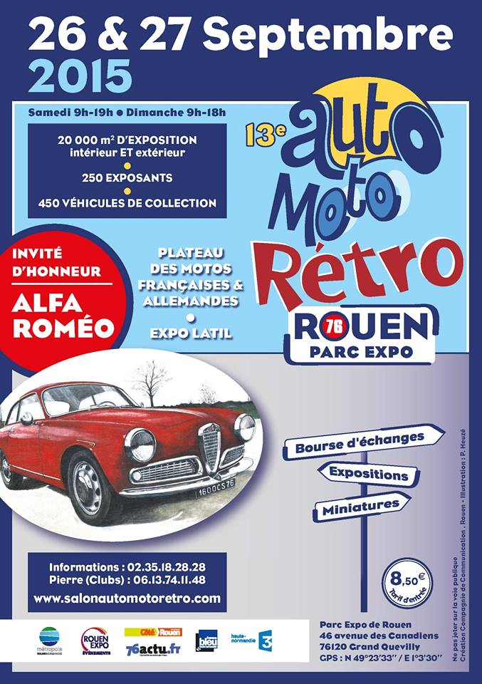 Auto Moto Rétro ROUEN 2015 Auto-m10
