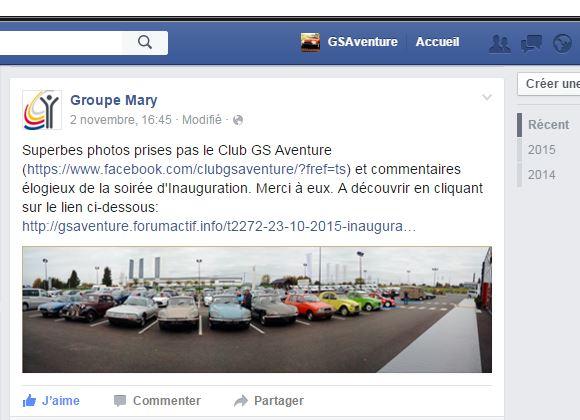 [23 10 2015] Inauguration d'une nouvelle concession Citroën/DS Lisieux Captur30