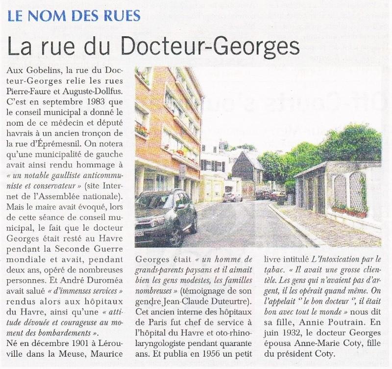 Havre - Le Havre - Rue du Docteur Georges 2015-028