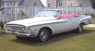 Restauration Dodge Dart 1962 convertible Johan terminée 1962do10