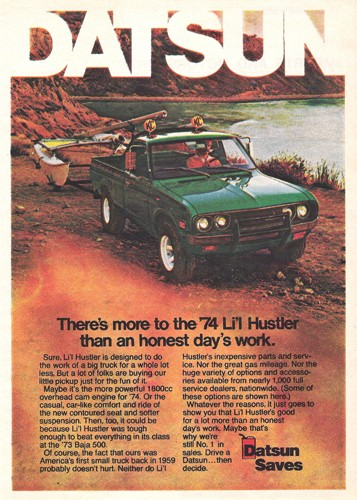 Topic OFFICIEL DATSUN PICK UP 620 HUSTLER 2WD & 4WD 1976ad10