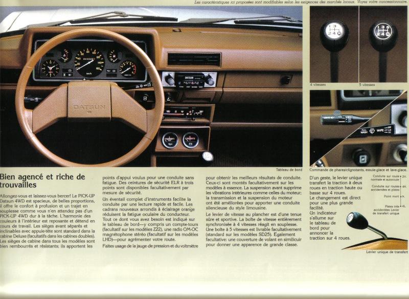 Topic officiel DATSUN pick up 720 KING CAB 2WD & 4WD Pick_u15