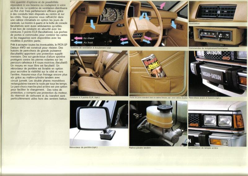 Topic officiel DATSUN pick up 720 KING CAB 2WD & 4WD Pick_u23
