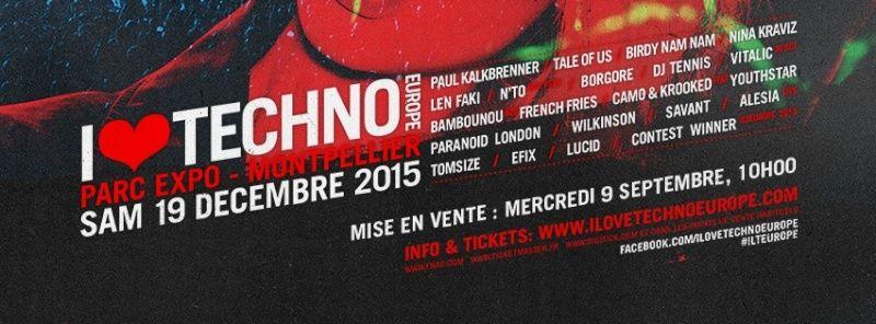 [ I LOVE TECHNO EUROPE - 19 Decembre 2015 - Parc des Expos - Montpellier ]   11924710