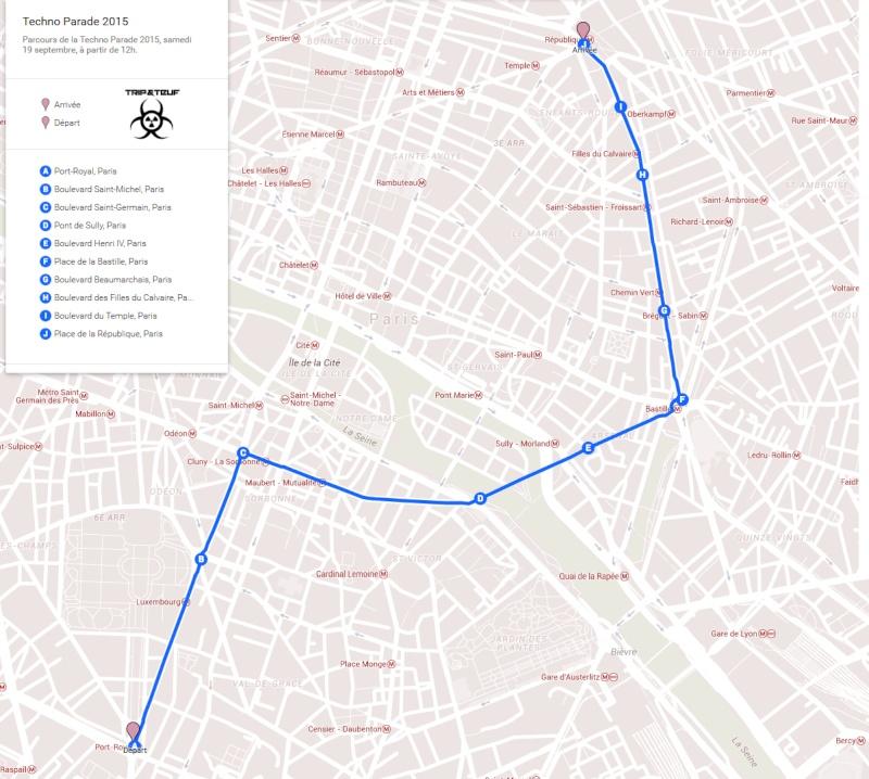[ CHAR TRIP & TEUF et FESTIMOVE à la TECHNO PARADE 2015 - SAMEDI 19 SEPTEMBRE - PARIS ] Parcou10