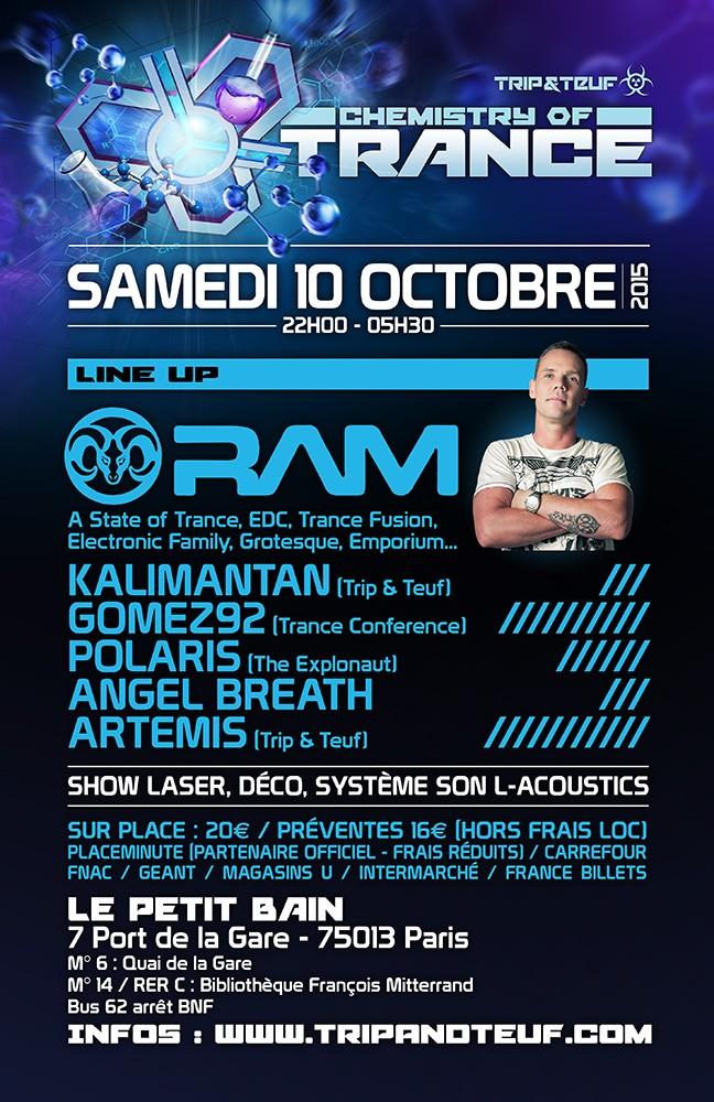 [ CHEMISTRY OF TRANCE - 10 Octobre 2015 - Le Petit Bain - Paris - FR ] Trance11