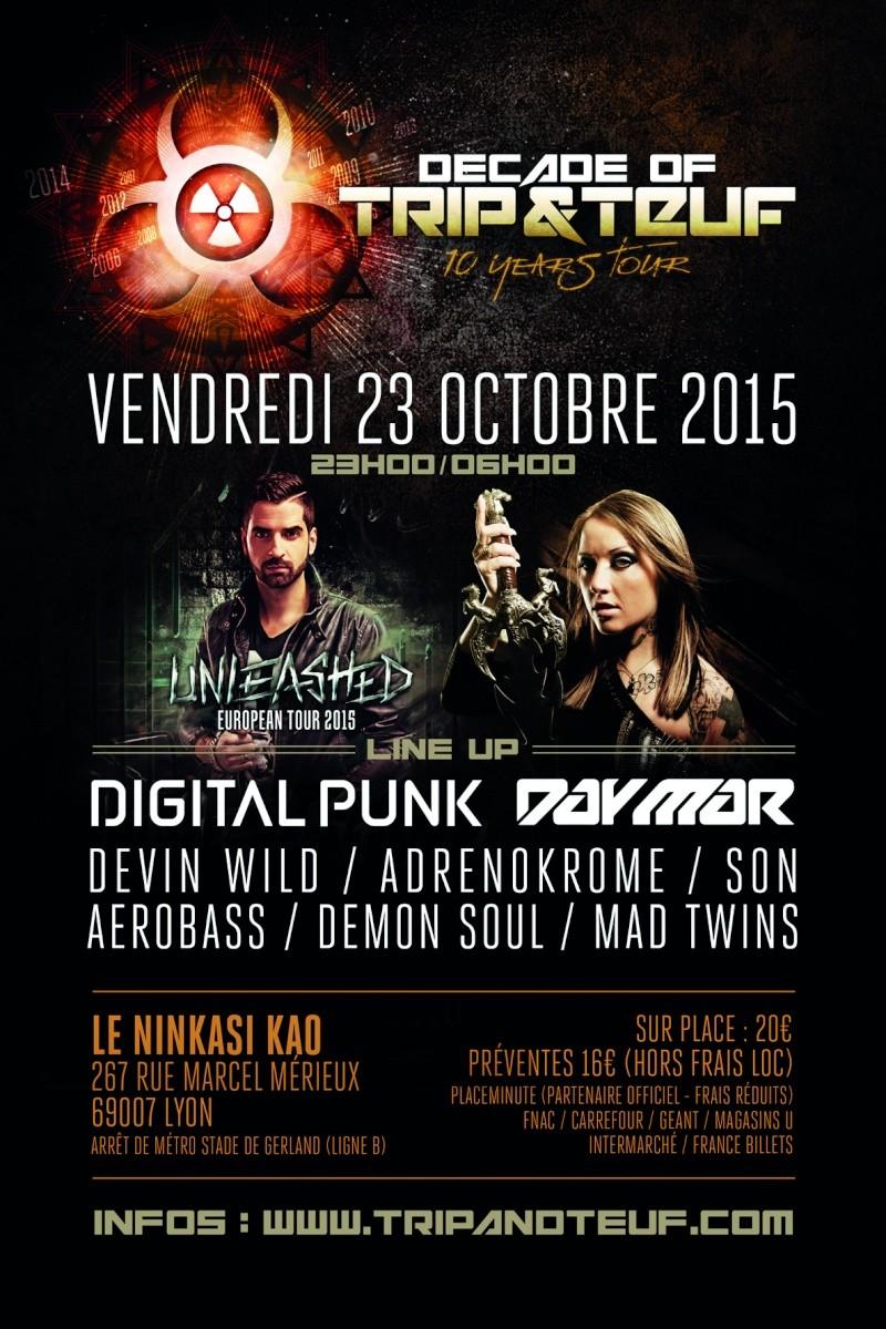 [ DECADE OF TRIP & TEUF - 10 Years Tour - Vendredi 23 Octobre 2015 - Ninkasi Kao - Lyon ] Trip-t11
