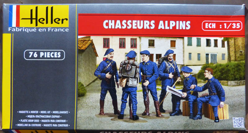 [HELLER] Chasseurs Alpins - 1/35. Chasse10