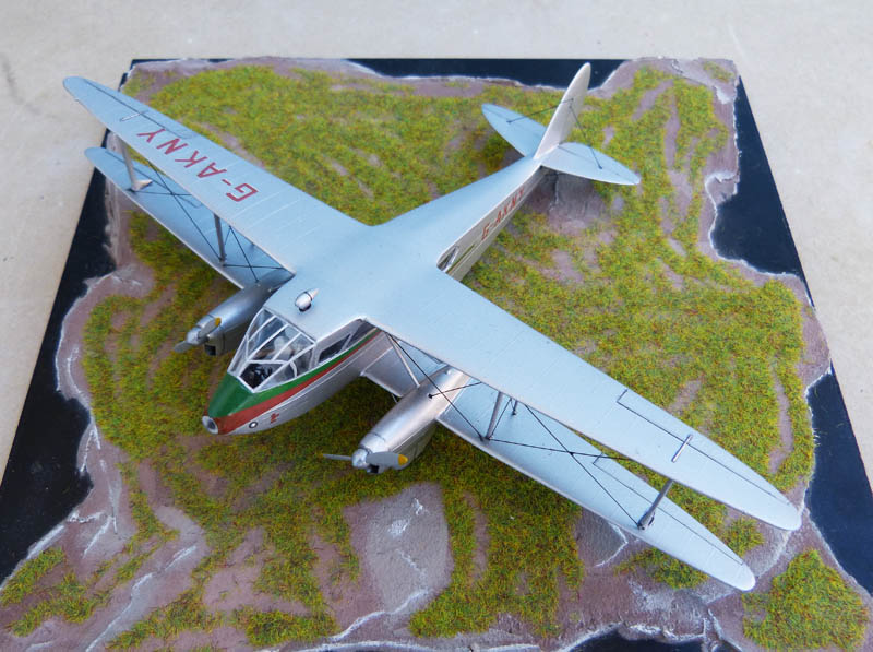 DE HAVILLAND DH 88 Dragon Rapide. Dragon10