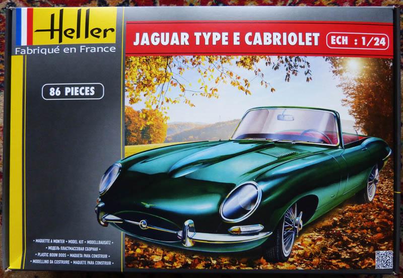 JAGUAR Type E Cabriolet  1/24ème Réf 80719 Jaguar10