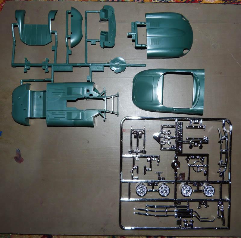 JAGUAR Type E Cabriolet  1/24ème Réf 80719 Jaguar12