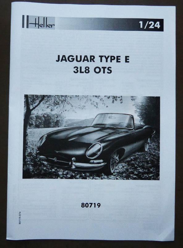 JAGUAR Type E Cabriolet - 1/24. Jaguar16