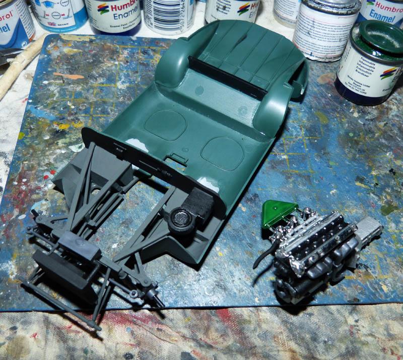 JAGUAR Type E Cabriolet - 1/24. Jaguar40