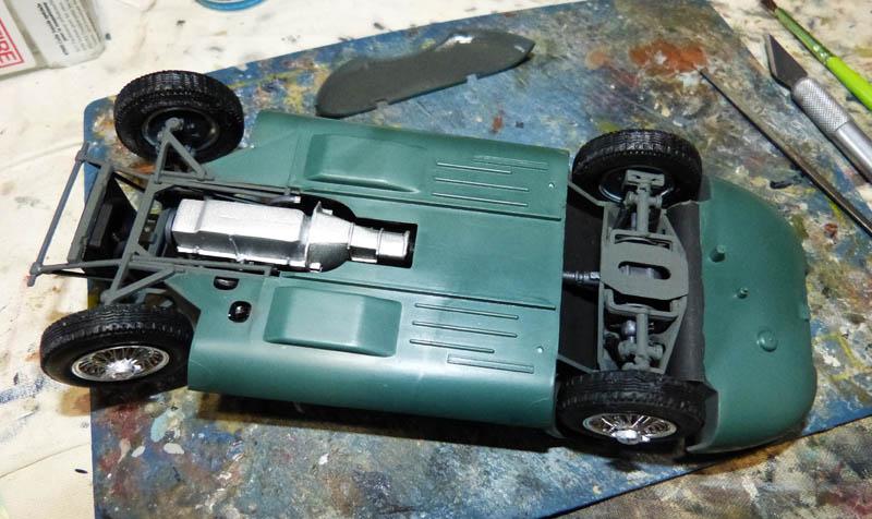 JAGUAR Type E Cabriolet - 1/24. Jaguar49