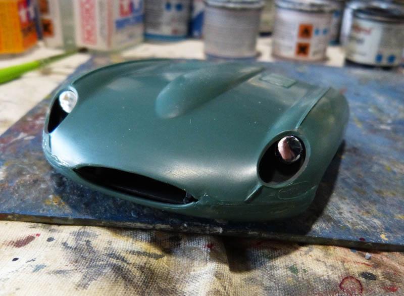 JAGUAR Type E Cabriolet - 1/24. Jaguar57