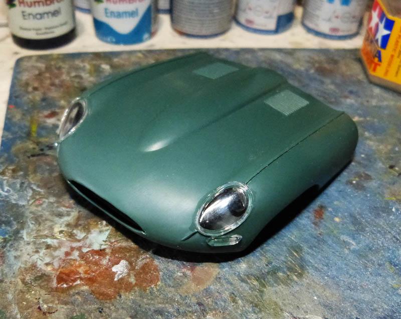 JAGUAR Type E Cabriolet - 1/24. Jaguar59