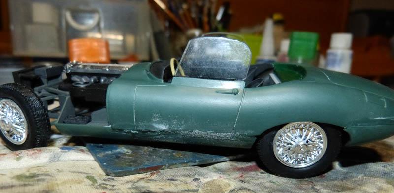JAGUAR Type E Cabriolet - 1/24. Jaguar61