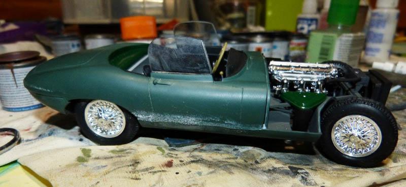 JAGUAR Type E Cabriolet - 1/24. Jaguar62