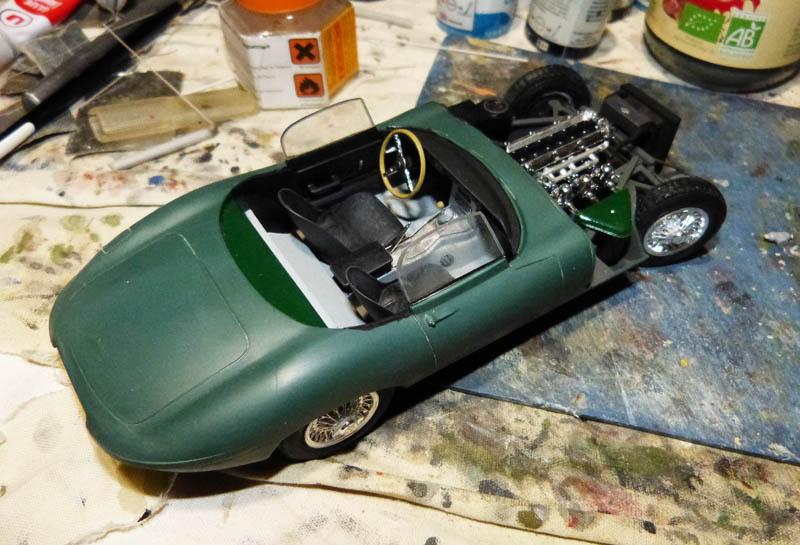 JAGUAR Type E Cabriolet - 1/24. Jaguar65