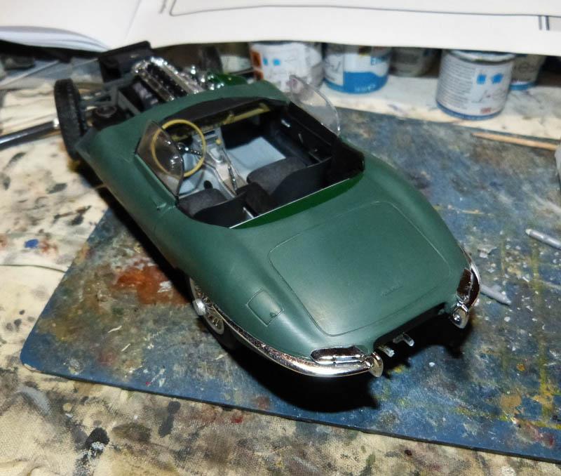 JAGUAR Type E Cabriolet - 1/24. Jaguar68