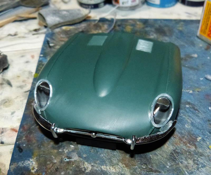 JAGUAR Type E Cabriolet - 1/24. Jaguar70