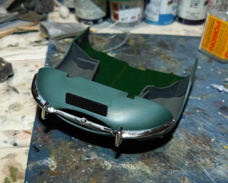 JAGUAR Type E Cabriolet - 1/24. Jaguar71