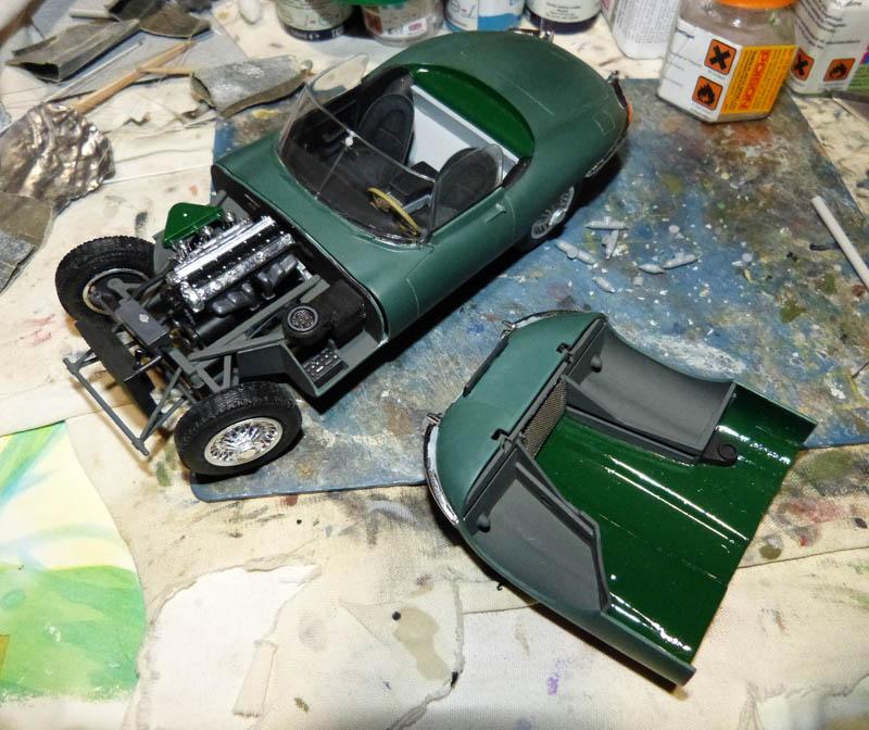 JAGUAR Type E Cabriolet - 1/24. Jaguar72