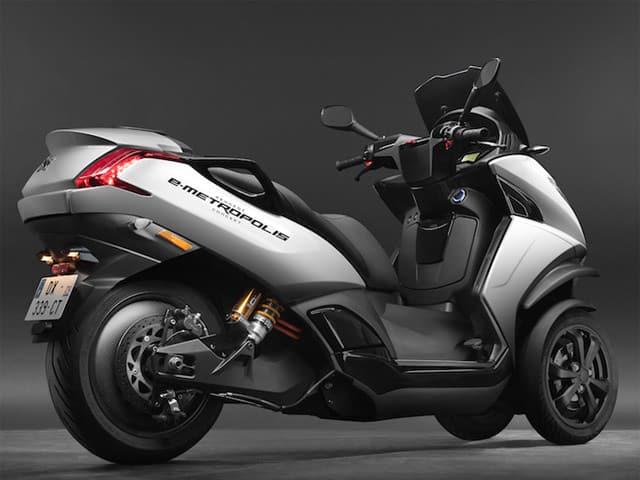 Concept Peugeot e-Metropolis Scoote10