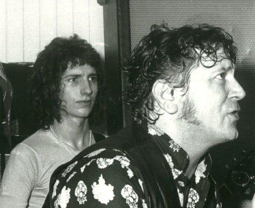 Ritchie Blackmore avec Gene Azoula10