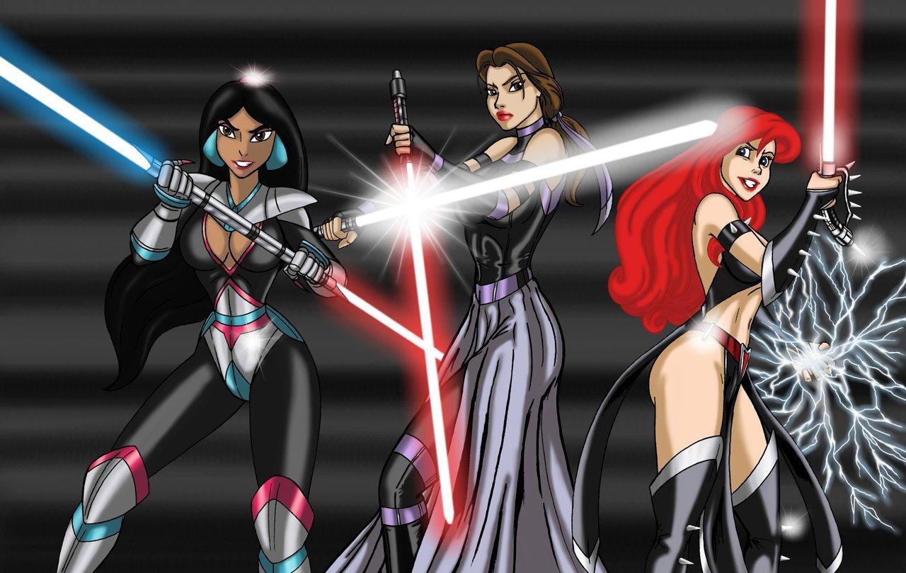 Quand les Princesses Disney se la jouent Star Wars... 25940710