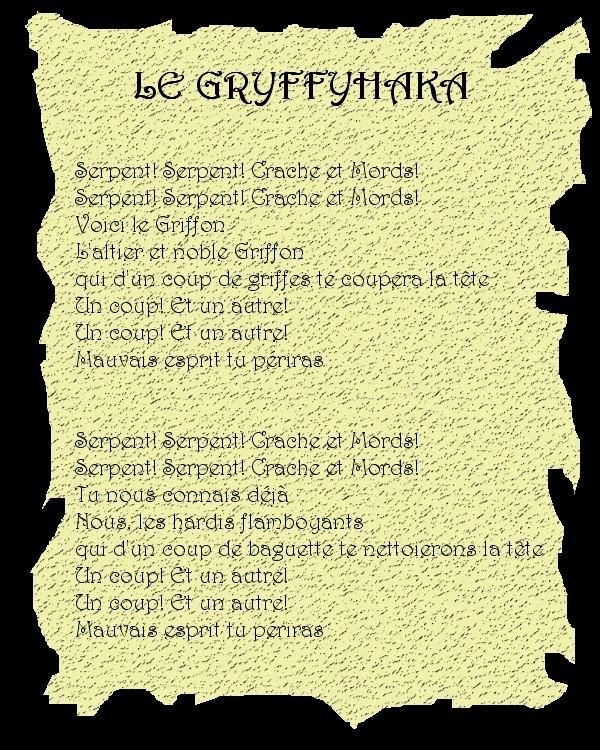 Les Gryffons dansent le Gryffyhaka Parche10