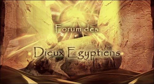 Forum Dieux Égyptiens