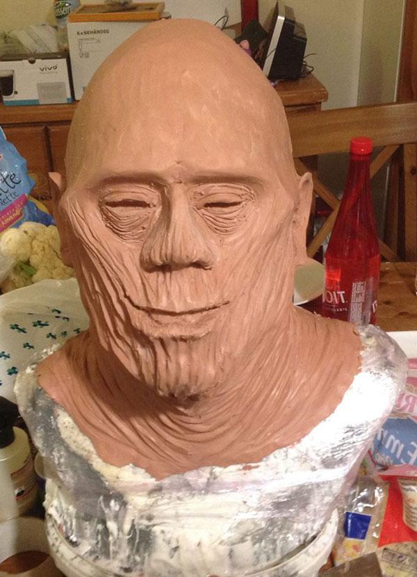 Sculpture momie en Chavant Momief10