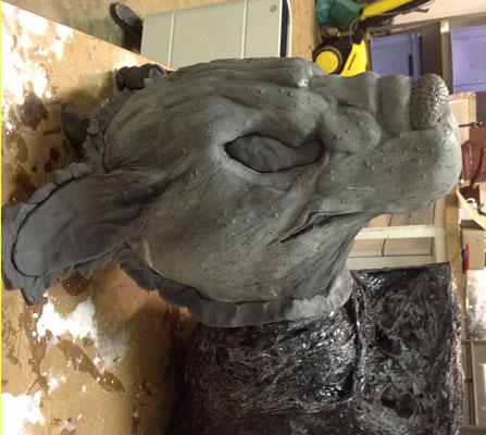 modelage de masques créatures Skaven10